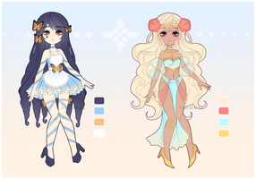 CLOSED - 1$ SB - Fairytale adopts #01 by Psycheia