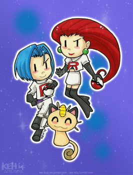 Little Team Rocket by tea-bug