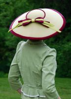 Dior Inspired Hat - Back by Goldenspring