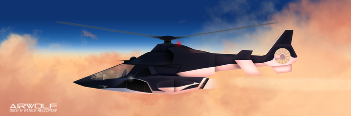 Airwolf redesign (If the Lady was built by the UK by TheBritishTinDog