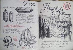 Gravity Falls Journal 3 Replica - Height Altering by leoflynn