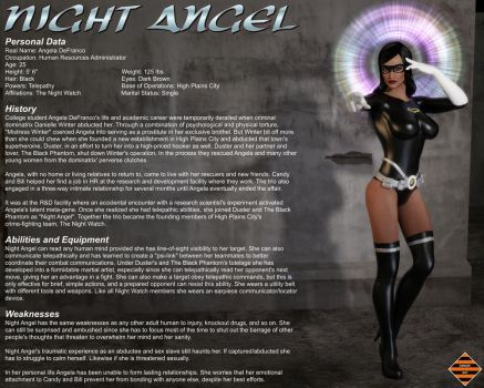 Night Angel Profile - New by Dangerguy01