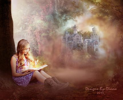 Once upon a time... by DesignsByDiana