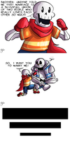 Lil' Pap and Sans: Get over it, Sans by HTF-ADTI-MLP100606