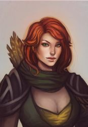 Windranger by Neidii