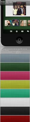 Fabric Textures PSD by graphcoder