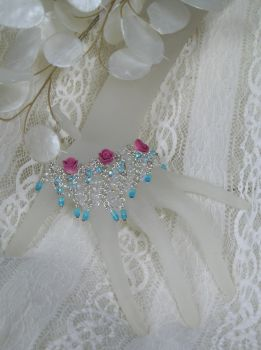 Bridesmaid Kerchief bracelet by HeddaLee