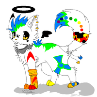 .: Old Fursona, old Style :. by RoxasLover-KH2