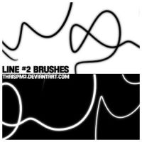 Line 2 Brushes by thaispm2
