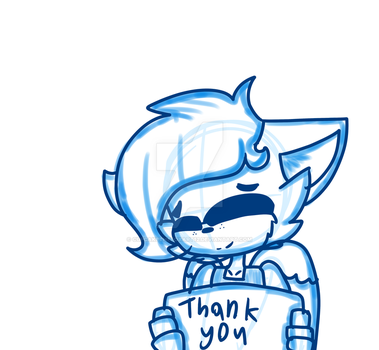 thank you X3 by cupcakethefoxart12