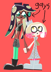 Pearl x Marina fan art by BloodHaven666