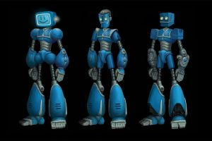 More robots by Kwad-rat