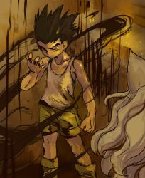 Gon's contract by Moonshen