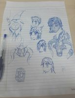 League of Legends Random Sketches by RisingAlpha78