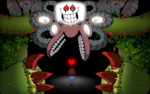 Omega Flowey by Whimsy-Floof