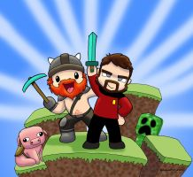 Heroes of Minecraftia by Wallaby77