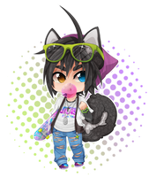 .: Chibi Xander :. by Nocturnally-Blessed