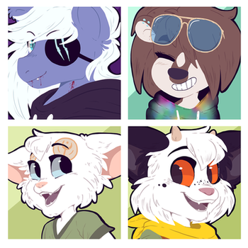 Icon commission pack number 62 by BloodyArchimedes