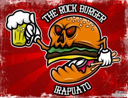 The Rock Burger by ElAsmek