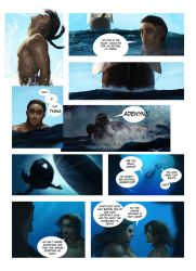 The Little Mermaid comic, page 9 REMAKE by MrRabLo