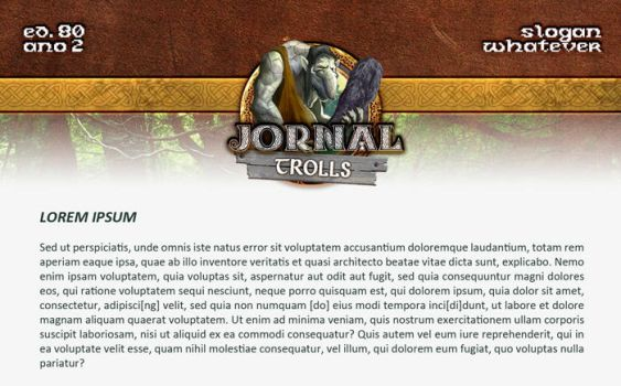 Journal Template for 'TROLLS' (eRepublik) by samantha-d