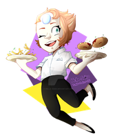 Restaurant Wars :PEARL AGAIN!: by Hella-Saiko