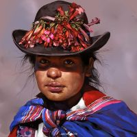 Peruvian Woman by IndahAlditha