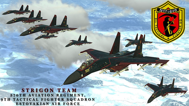 Ace Combat 6 Fires of Liberation - Strigon Team by BillyM12345