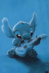 Warm Up Sketch: Stitch by N8KELLY