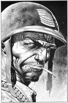BOLLAND SGT. ROCK Recreation by SKY-BOY