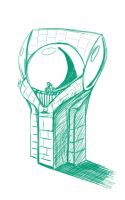 Daily Sketch: Beacon by Hunchy
