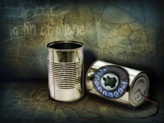 Tin Phone by liebeSuse
