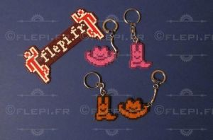 keychains country style ! by flepi