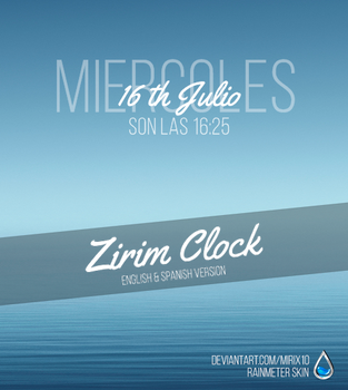 Zirim Clock by Mirix10