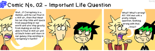 TnFComic No. 02 - Important Life Question by RAIINY-SKYE