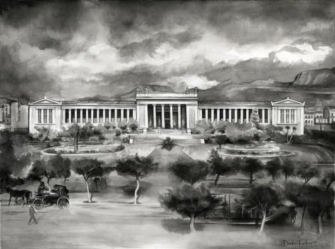 National Archaeological Museum of Athens in 1900 by dimitriskoskinas