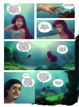 The Little Mermaid comic, page 19 by MrRabLo