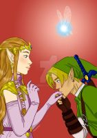 Hylian kiss by MrsMersey