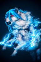 .: Thunder Dance :. by WhiteSpiritWolf