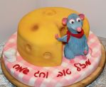 Cheese Fondant Cake by mysweetstop