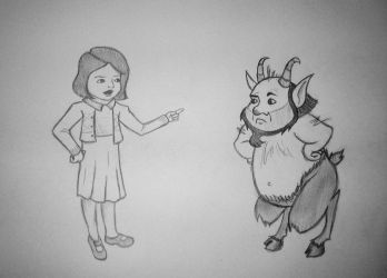 You're not Mr. Tumnus! by Meredactyl33