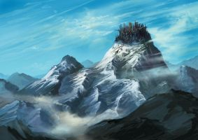 Mountaincity by typesprite