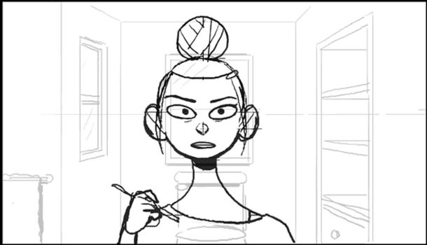 Eyeliner loop animatic by Tallychyck