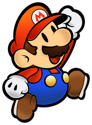 Mario (Classic)- Super Paper Mario 10th by Fawfulthegreat64