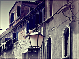 Old lamp by Clergna