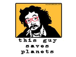 This Guy Saves Planets by michabre