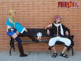 Natsu and Lucy - x791 by onlycyn