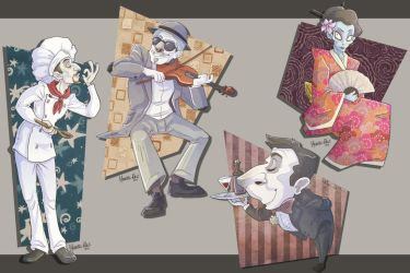-costumed characters- by weird-science