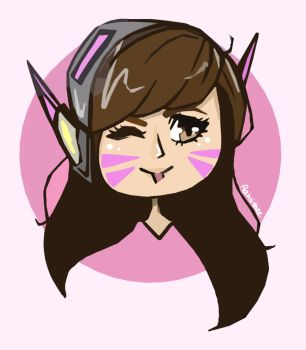 D.Va by Aahlithee