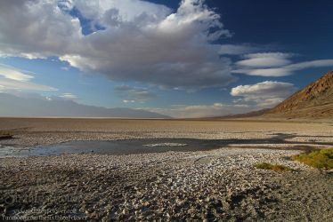 Badwater Basin - Death Valley by The-SixthLeafClover